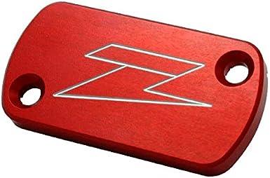ZETA Red Front Brake Reservoir Cover ZE86-1103