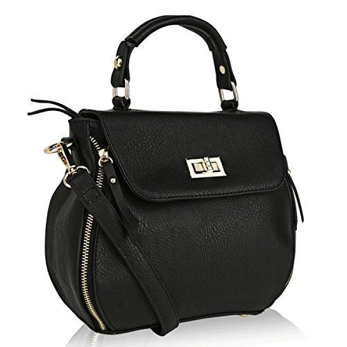 Shava Farrow Crossbody Collection Black by MKF K Handbag Designer Mia 6pwZqBq51