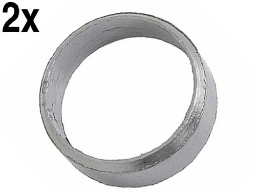 Mercedes (92-08) Front Exhaust Pipe Seal Ring (x2) r129 w463