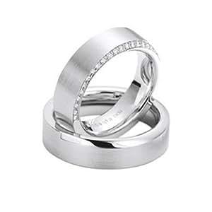 Confíes anillos de compromiso anillos // / oro/oro blanco