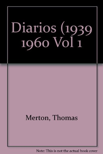 Diarios  / Journals: 1939-1960 (Spanish Edition) by Brand: Oniro