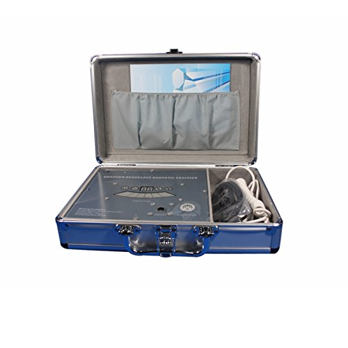 Quantum Resonance Magnetic Analyzer with English and Spanish Langue Reports, Silver