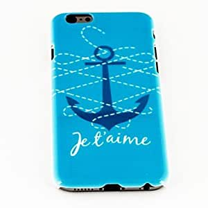 DUR Fashion Punk Anchor Pattern TPU Soft Cover for iPhone 6