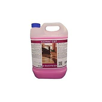 Líquido cristalizador/sellador para abrillantar suelos de terrazo o mármol. Especialmente indicado para el cristalizado rápido confiriendo un gran ...
