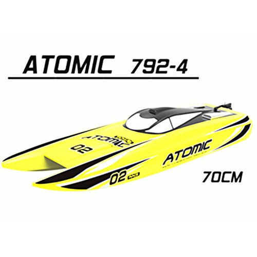 Price comparison product image Quickbuying Volantex ATOMIC V792-4 RC Boat Parts Hull Cover Painted With Bolt (Without Decal
