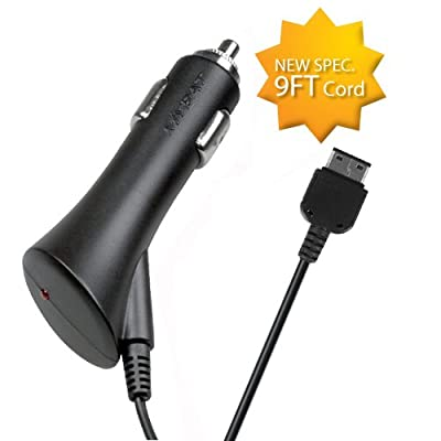 Fits Samsung Universal Car Charger (USB Car/Travel Charger with IC chips). 9FT Cord. Compatible with The Following Models: [5Bkhe2009093]