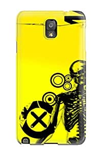 Protective Tpu Case With Fashion Design For Galaxy Note 3 (creepy)
