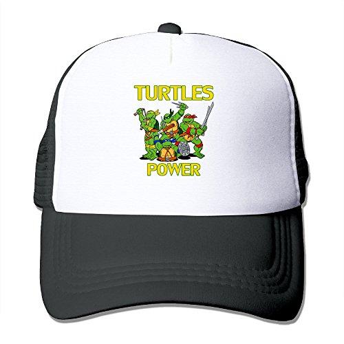 Elnory TURTLES1 Cool Hunting Cap Black ()