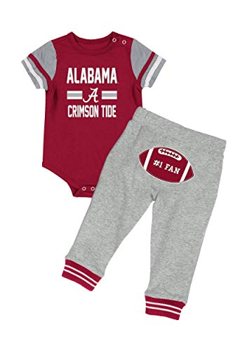 - Infant Boy Alabama Crimson Tide Long Run Football Set