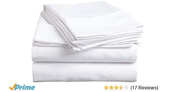 Amazon.com: Twin XL Size Flat Sheet Only, 600 Thread Count