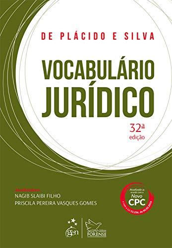 Vocabulário Jurídico Plácido Silva ebook