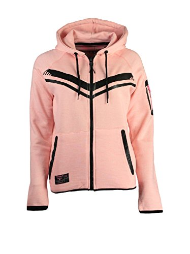 Geographical Norway - Sweat à capuche Femme Geographical Norway Fluence Rose