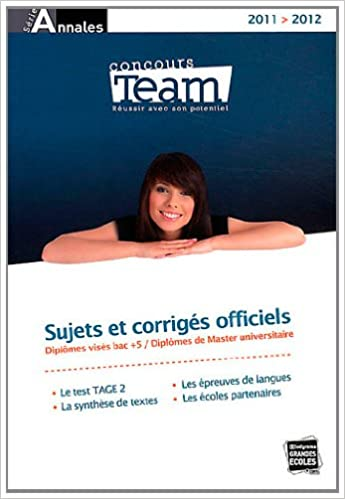 Lire un Les annales TEAM 2011/2012 pdf ebook