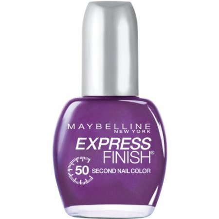 (Maybelline Express Finish Nail Pretty in Purple)