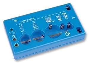 Lamp Tester Including B15d, B22d, E10, E14, E27, G4, G5, G9, G13, G53, Gu5.3, Gu10, Gy6.35.