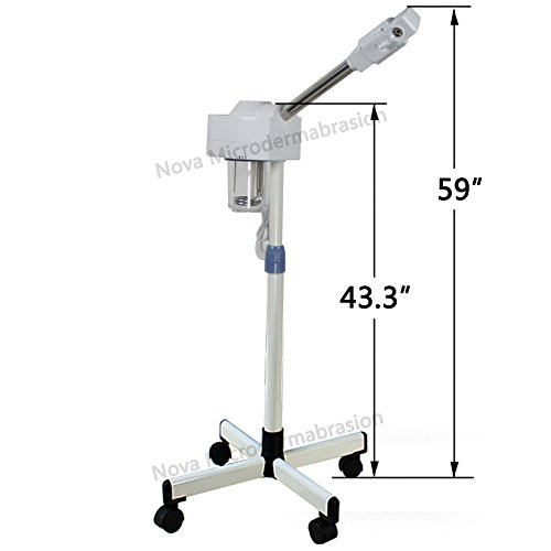 Professional Ozone Facial Steamer 5x Led Floor Magnifying