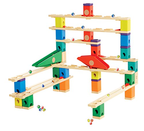 Hape Quadrilla Wooden Marble Run Construction - Autobahn ...