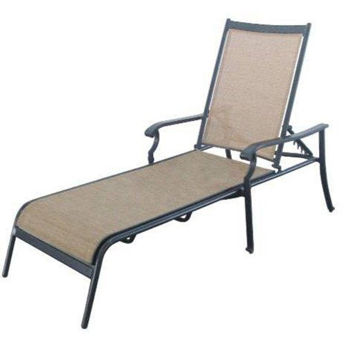 Solana Bay Patio Chaise Lounge by Martha Stewart Living