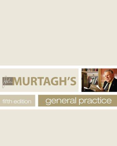 John Murtagh's General Practice (5th 2011) [Murtagh]