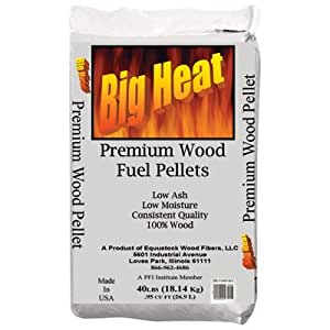 Wood Fuel Pellets - 40-Lb. Bag
