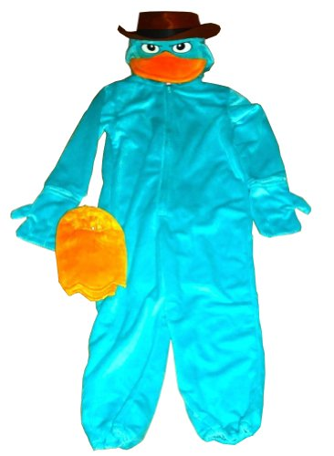 Disney Parks Agent P Costume Perry Phineas and Ferb -
