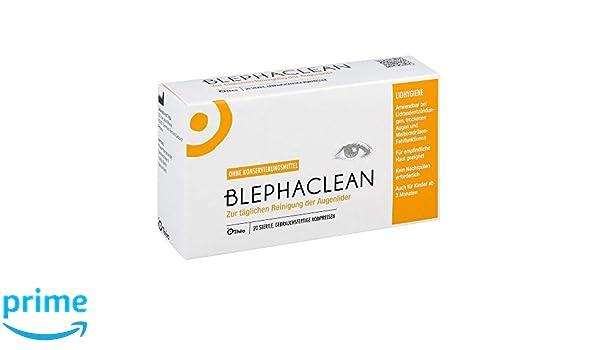 blephaclean compresas estériles, 20 unidades: Amazon.es: Salud y cuidado personal