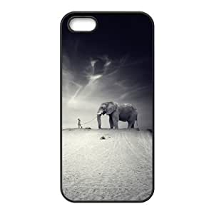 XOXOX Phone case Of Elephant Cover Case For iPhone 5,5S [Pattern-2]