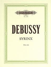 Syrinx-Urtext - Fl Solo par Claude Debussy