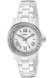 Fossil Women's CE1085 Cecile Stainless Steel Watch with Link Bracelet