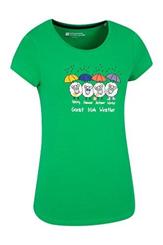 Mountain Warehouse - Camisa deportiva - para mujer Verde