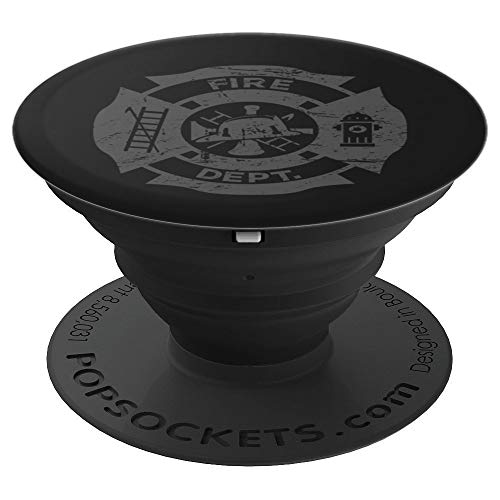 Fire Department Present / Volunteer Fire Fighter Gift - PopSockets Grip and Stand for Phones and Tablets]()
