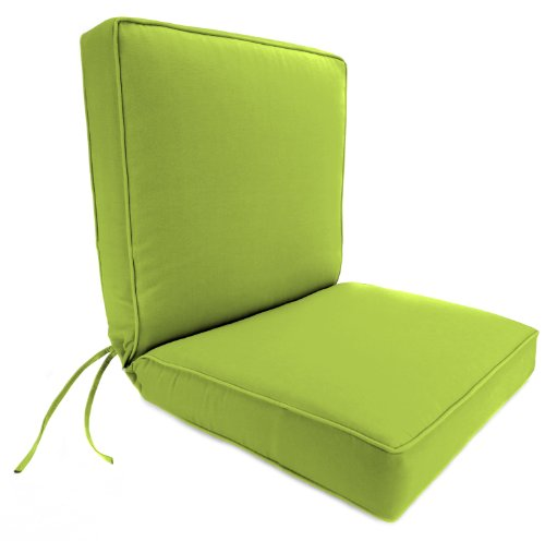 Jordan Manufacturing Dinning Boxed Chair Cushion in Acrylic