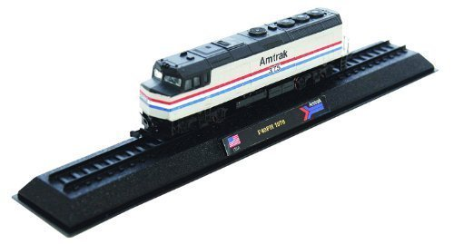Amtrak F40PH - 1976 diecast 1:160 scale locomotive model (Amercom LN-1)