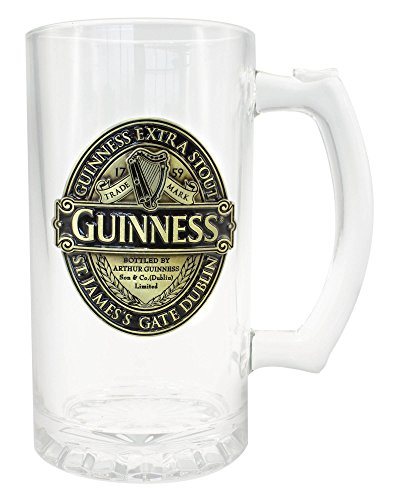 Guinness Tankard With Guinness Classic Collection Gold And Black Label Design