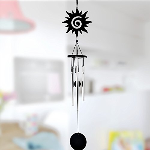 Wind Chime,Outdoor Garden and Home Decor,Premium Metal Tube Wind Chime - Sun Glasses Thump