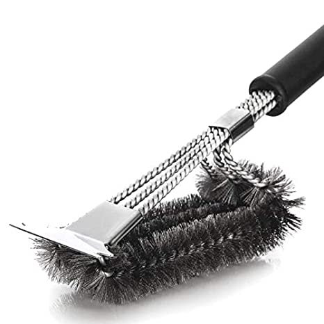 Kapilon Cepillo de Limpieza para Parrilla: Cepillo y ...