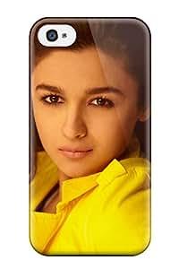 8735980K76461026 New Tpu Hard Case Premium Iphone 4/4s Skin Case Cover(alia Bhatt In Student Of The Year)
