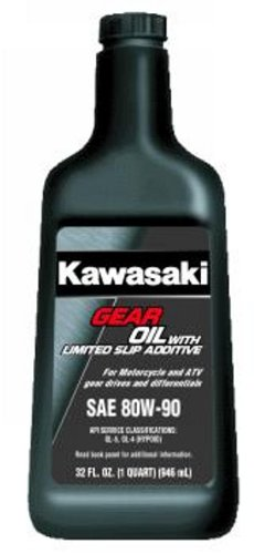Kawasaki Slip - Kawasaki Gear/Final Drive Oil With Limited Slip Additive 80W90 K61030-007A