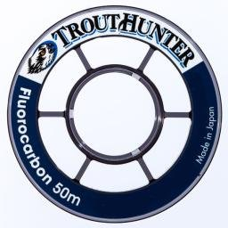 Trouthunter Fluorocarbon Tippet, 50m, 5X