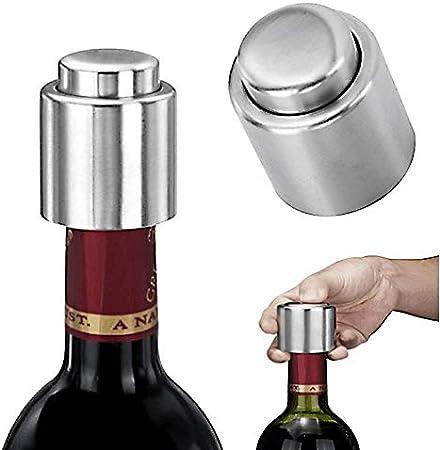 Chingde Abrebotellas de vino, Sacacorchos de cerveza abridor de vino manual Sacacorchos de ala con tapón de botella de vino para barras de restaurante de cocina, 2 Piezas