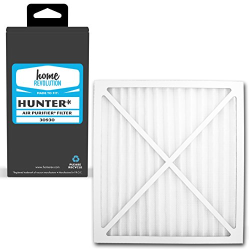 1 Hunter 30930 Air Purifier Comparable HEPA Filter. A Home Revolution Brand Quality Aftermarket Replacement