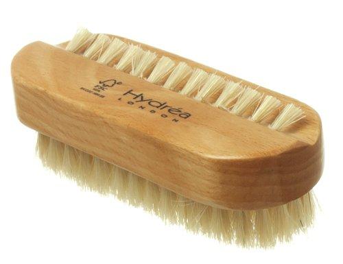 Wooden Nail Brush Natural Bristles by Hydrea London