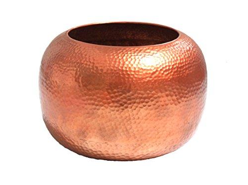Gold Eagle USA Hammered Vase, 12