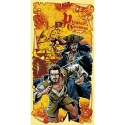 Pirates of Caribbean Dead Mans Chest Party Backdrop Banner