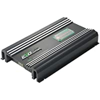Lanzar Amplifier, 3,000 Watt, SMD Class A/B MOSFET, RCA Input, 4 Channel Amplifier, Amp Power Supply, Bass Boost, Mobile Audio, Amplifier for Car Speakers, Car Electronics, Crossover Network (EV464)