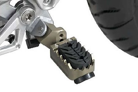 BMW R1200GS Liquid cooled Adjustable rider Foot Pegs
