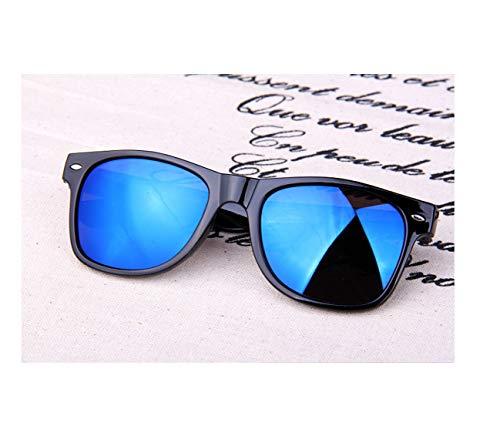 Fashion Sunglasses Women 2019 Men Sun Glasses Driving Mirrors Coating Points Black Male Sunglasses Uv400,Blue (Driving Brillen)