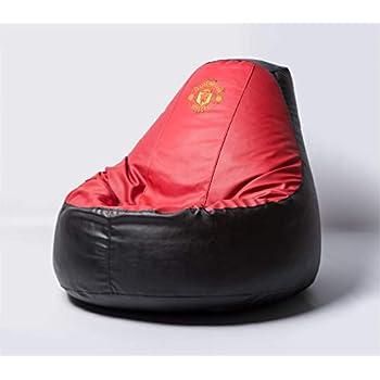 Amazon.com: Manchester United Football Beanbag Comfortable ...