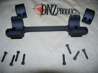 Freedom Reaper Tactical Rem700 1in LA RH High 20 MOA Mount, Black, by DNZ