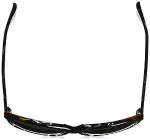 Cole Haan Men's Ch6005 Plastic Square Sunglasses, 58 mm